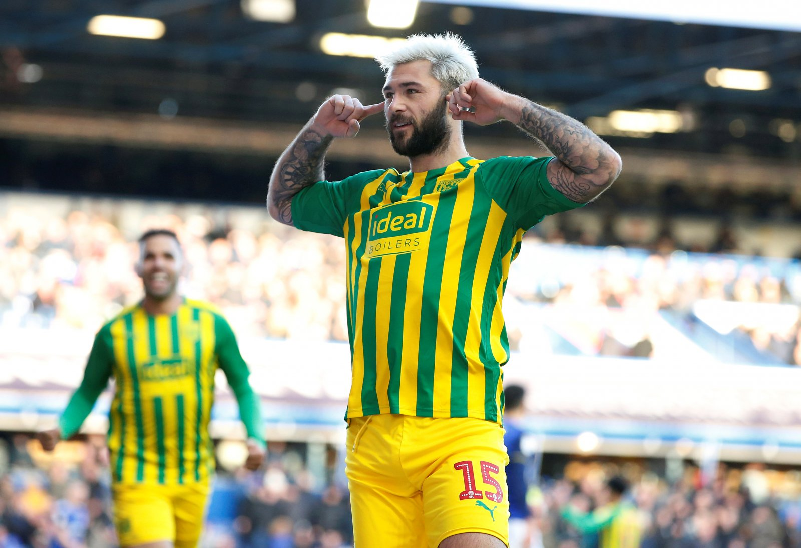 West Brom These Fans Are Loving Charlie Austin S Recent Performances Thisisfutbol Com